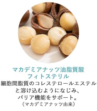 マカデミアナッツ油脂質酸フィトステリル